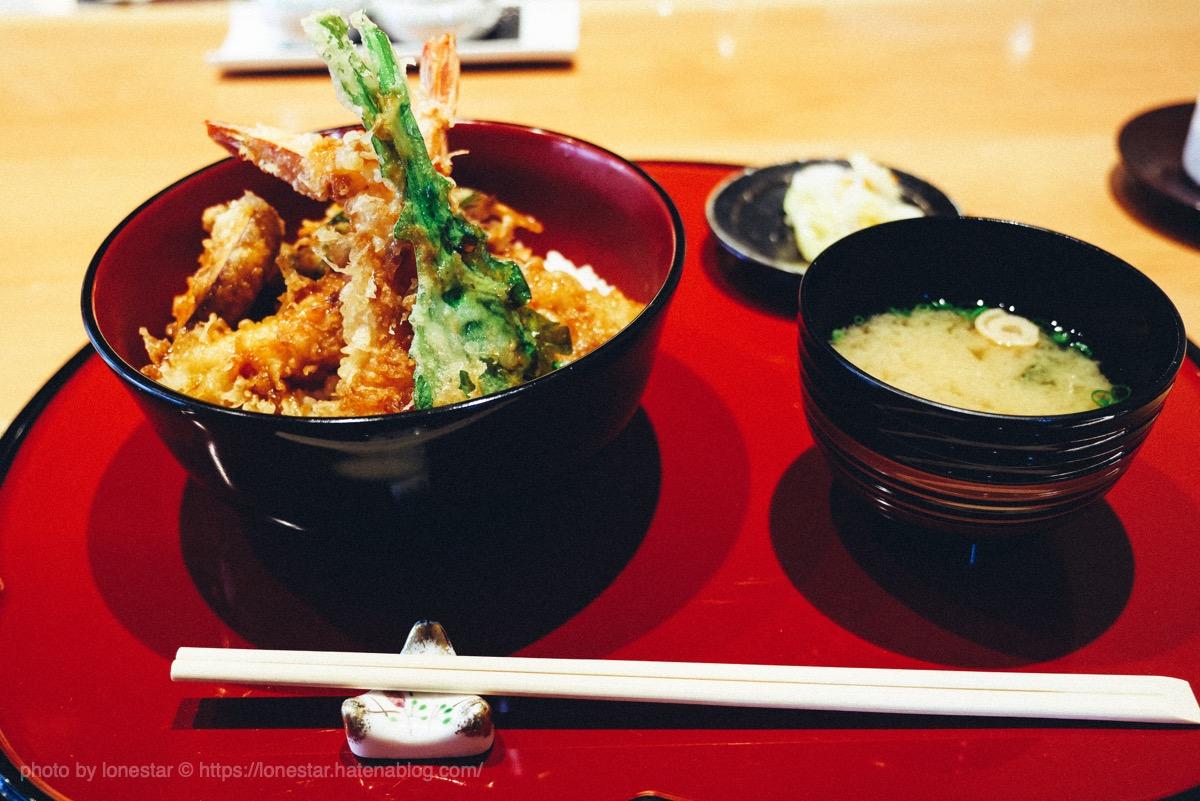 海老天丼 天ぷら かよう