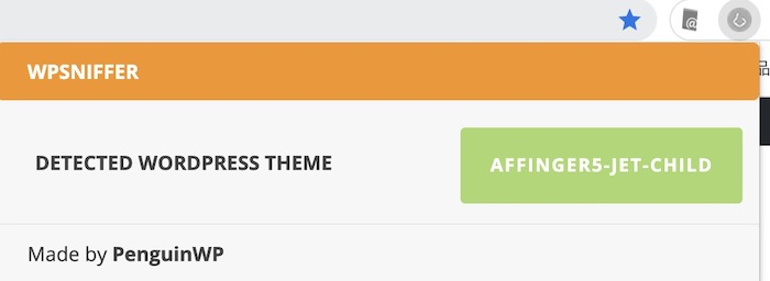 WPSNIFFER - WordPress Themes Sniffer