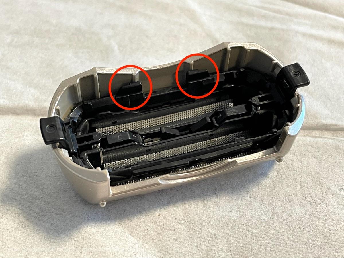 電気シェーバー 外刃 交換
