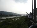 橋梁を渡る列車