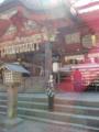 富士浅間神社 不思議に見える部分輪郭を加筆