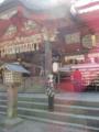 富士浅間神社 下部に家来衆、従者達?