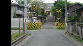 No.19 (秩父市)母巣山少林寺方面 秩父鉄道踏切(2011/05/07撮影)