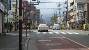 No.09 (府中市)分倍河原京王線踏切:西向き(2011/04/09撮影)