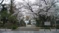 No.16 (国立市)都立国立高校正門:東向き(2011/04/09撮影)