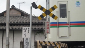No.17 (秩父市)パーラーベガス秩父店横 秩父鉄道踏切(2011/05/07撮影)
