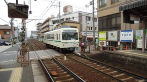 一乗寺駅(2011/06/12撮影)