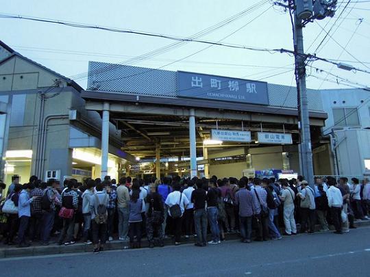 出町柳駅06/12朝4:35