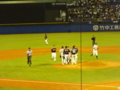 侍ジャパン大学日本代表 対 NPB選抜 世田谷草野球ロスヒターノス