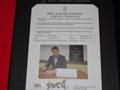 広島東洋カープ 前田智徳 通算2000安打達成メモリアル 直筆サイン入り