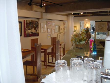 画廊の内部を紹介