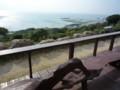 テラス席からの眺め