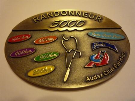 ランドヌール5000メダル