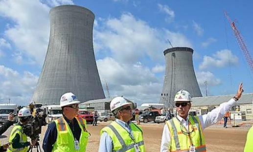 原子力発電所の労働者