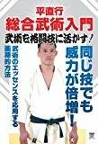 平直行 総合武術入門 武術を格闘技に活かす! [DVD]
