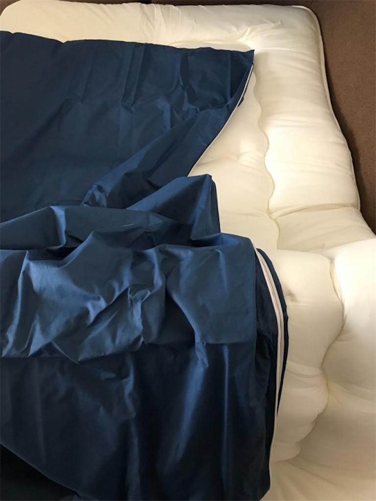 敷き布団とカバー