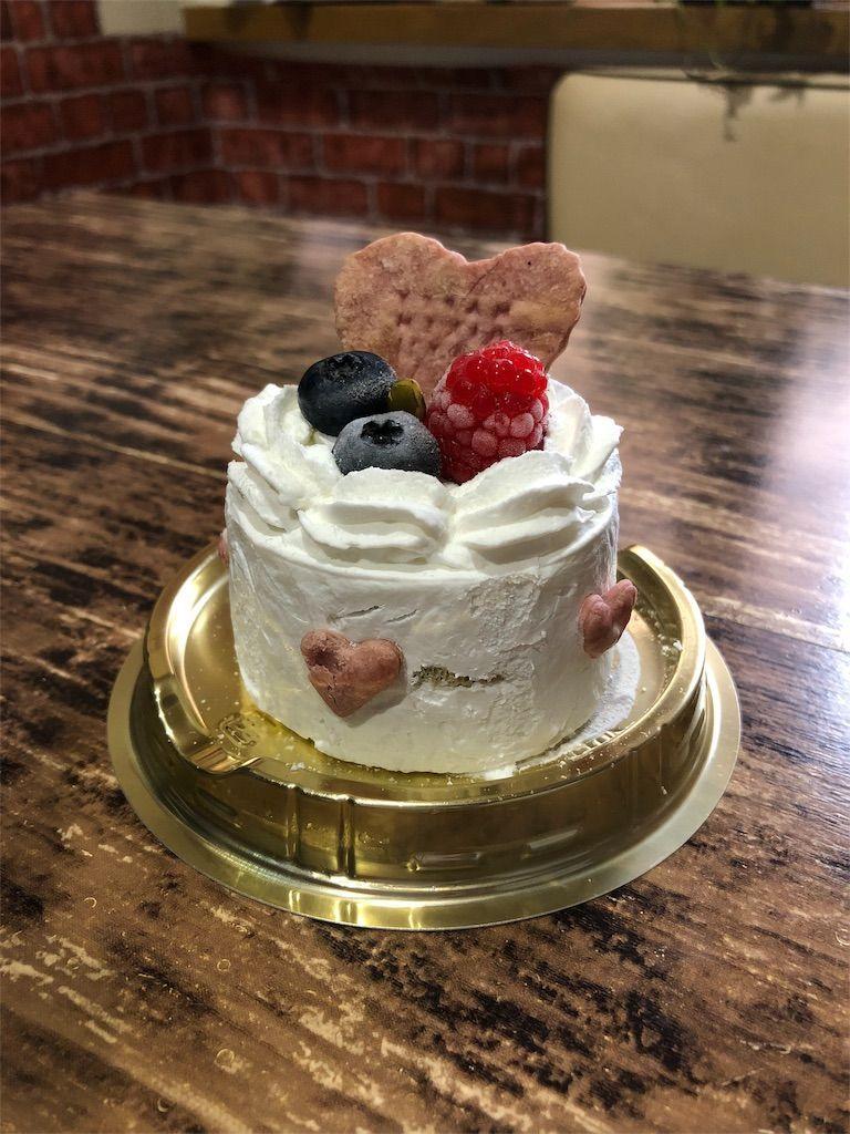 1,500円の犬用ケーキ