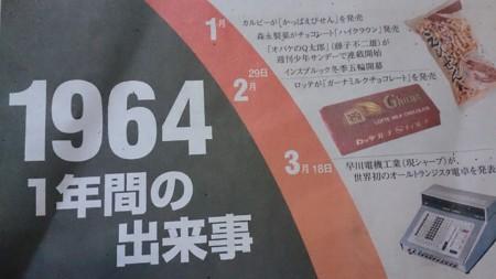 1964 1年間の出来事」(読売新聞...