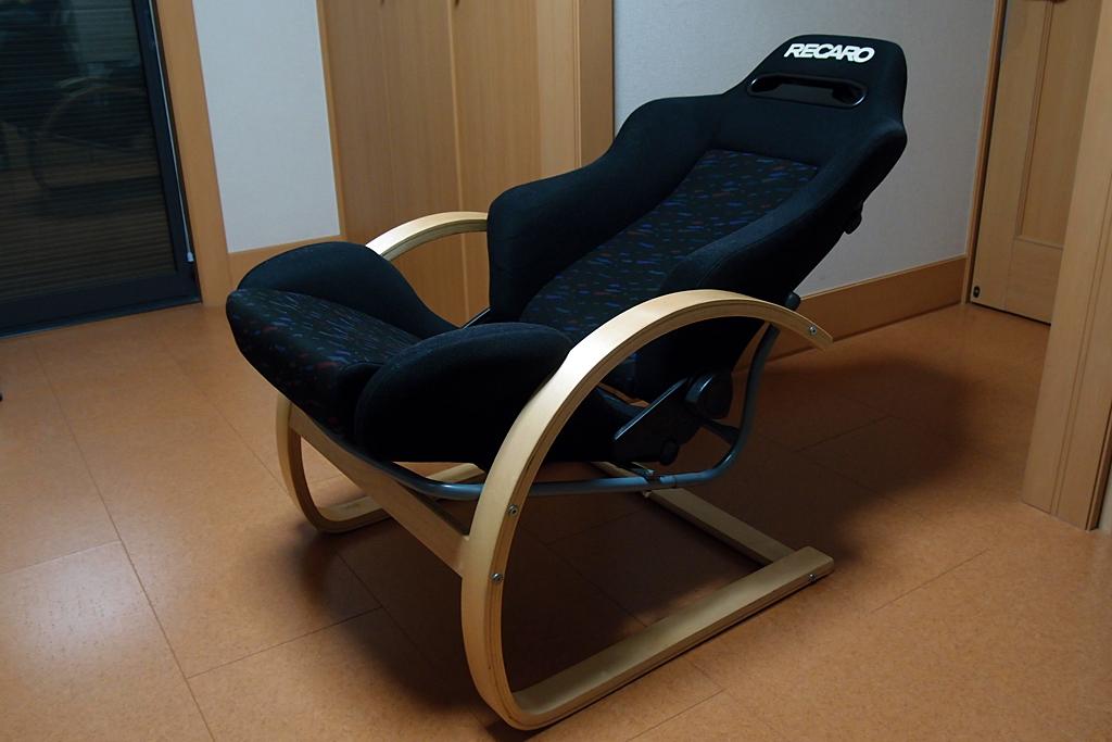 レカロSR3 安楽椅子