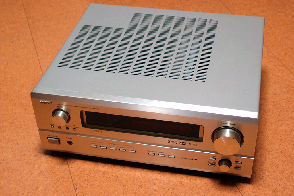 AVサラウンドレシーバーデンオンAVR-3300