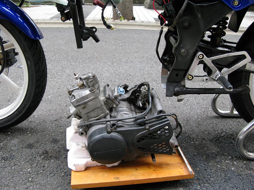 NS-1用リップス製ボアアップエンジン