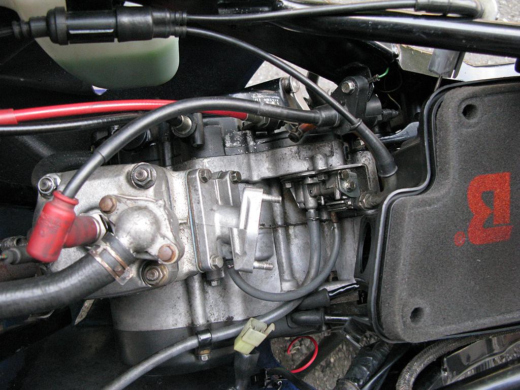 換装したリップス製ボアアップエンジン