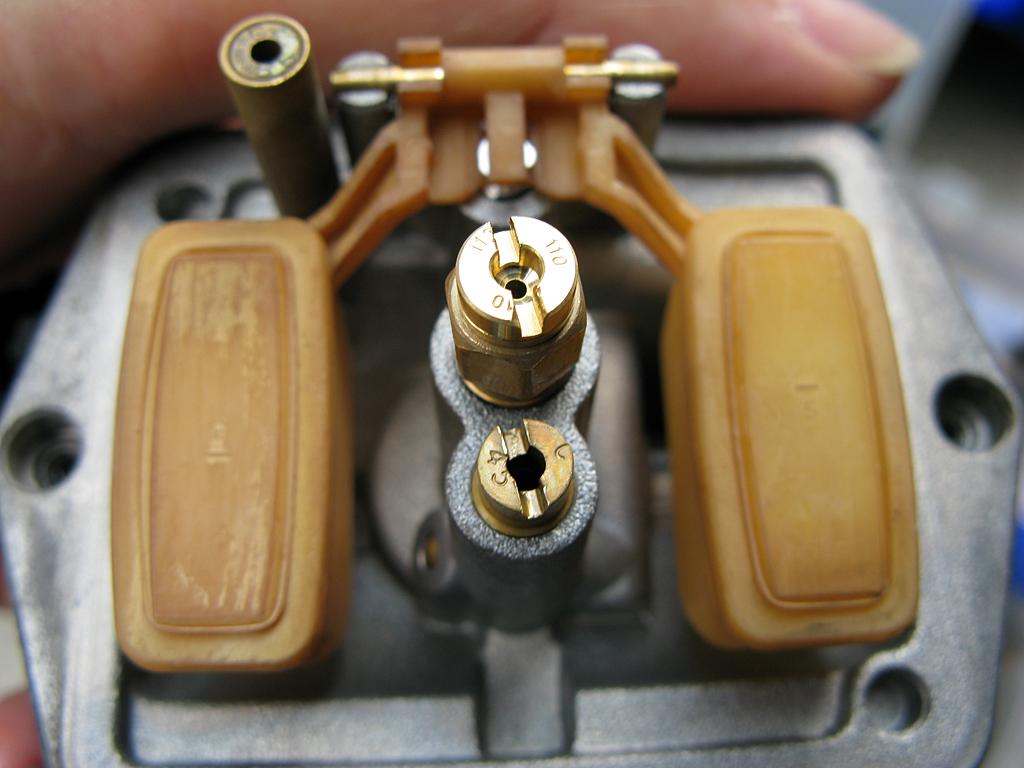 PF72型キャブレターセッティング