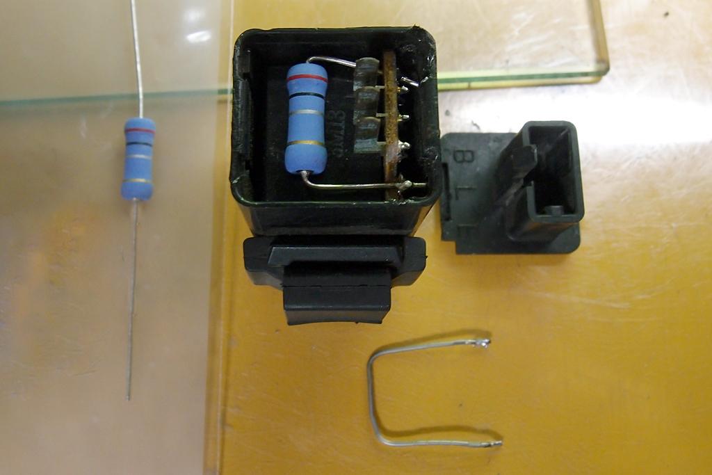 LED対応加工の純正ウインカーリレー