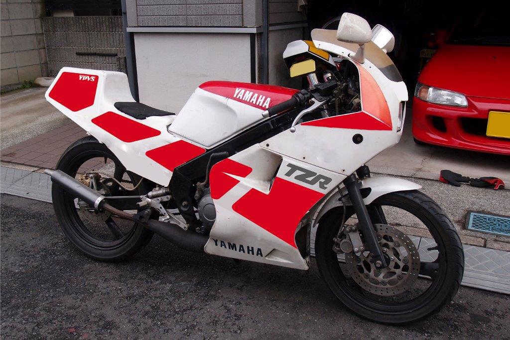 TZR250R(3MA)のオマージュ風カラーリング案