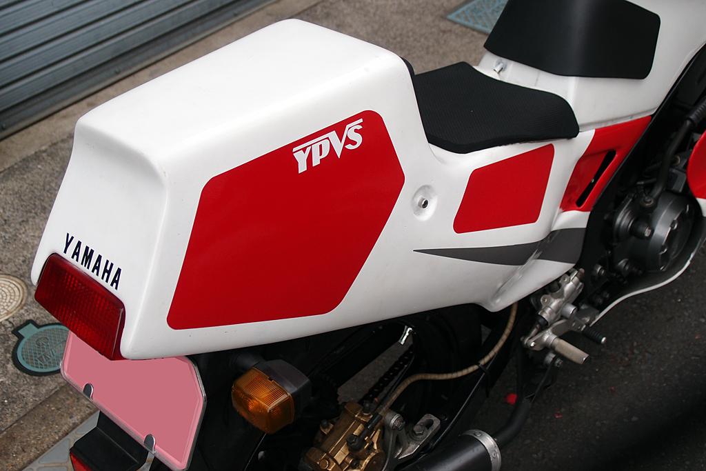 ヤマハTZ125レーサー用ラバーシート加工