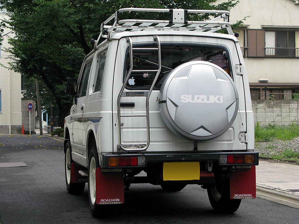 JA11Vジムニー用スズキスポーツ純正リアラダー装備