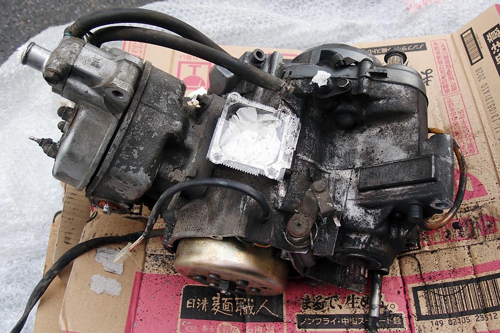 落札した中古2RMエンジン
