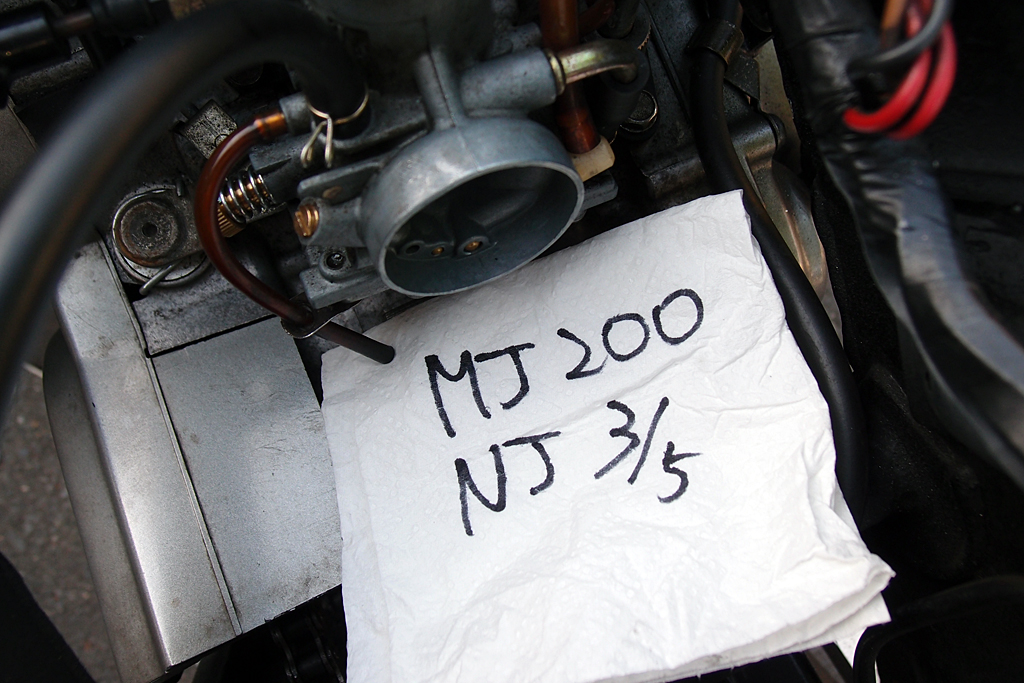 VM26SSキャブレターセッティングMJ200/NJ3/5
