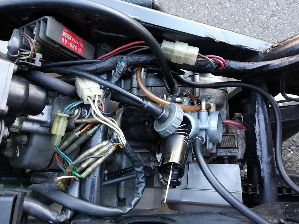 ヤマハTZR125 VM26SSキャブレターセッティング