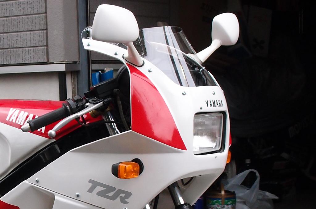 TZR125にLEDバルブ搭載