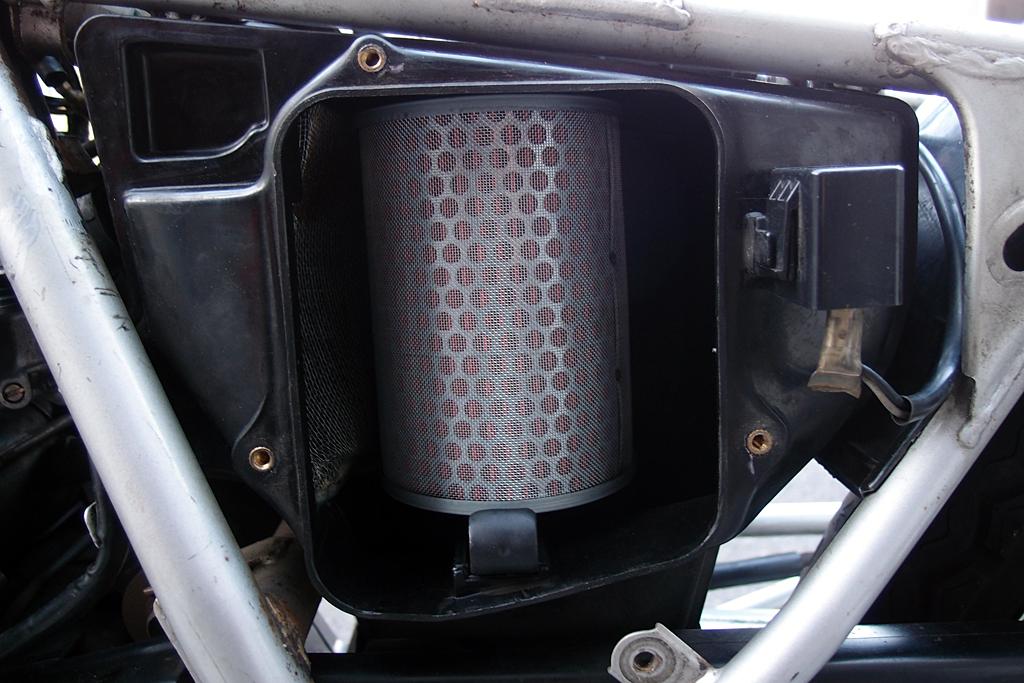 金属製メッシュ装備の互換エアクリーナー