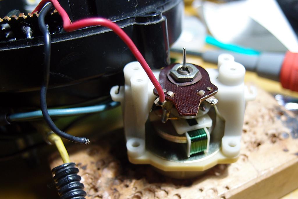 復調しなかったたVT250FC用タコメーターユニット