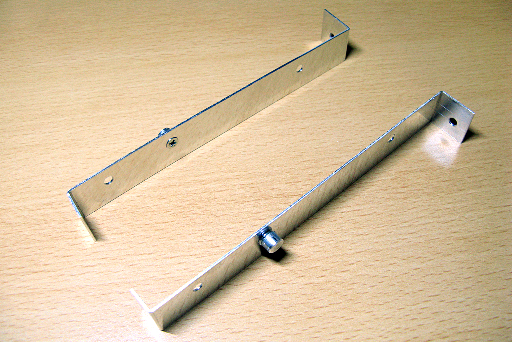 自作したアルミ製ストレージ用アダプター
