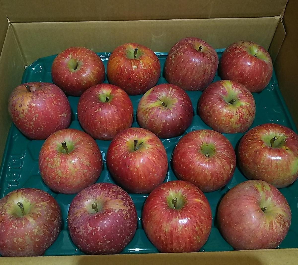 りんごは箱買いします