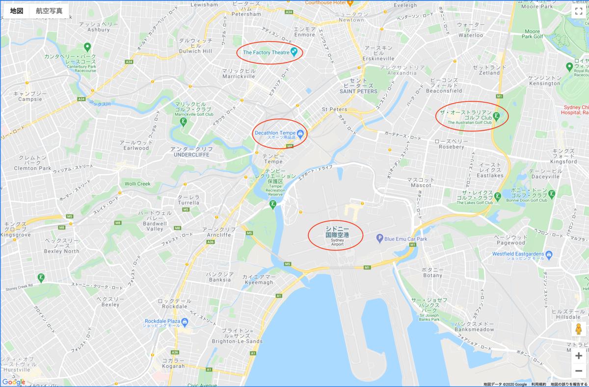google map api によるgoogle mapの表示