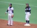[千葉ロッテマリーンズ]07/03/31 vs HAWKS 根元俊一/川崎宗則
