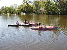 Kayak again