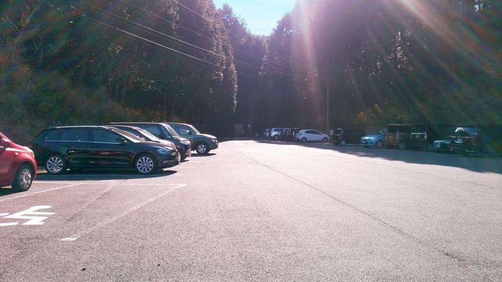 掛川森林果樹公園アトリエ駐車場