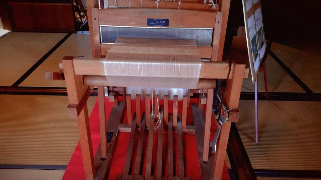 葛織物織り機