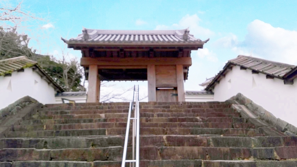 掛川城正面門