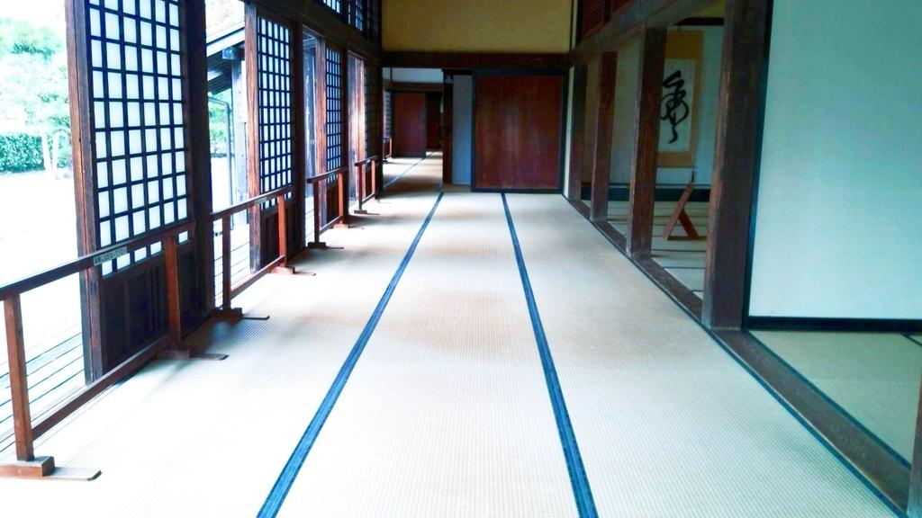 掛川城二の丸御殿畳