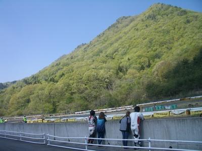 レース前の風景