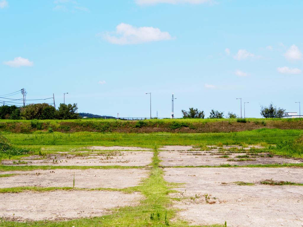 安田城跡の本丸跡