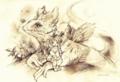 トカゲ竜と小人ちゃん