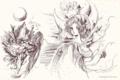 クリスタルの浮島 巫女